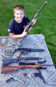 Rimfire guns are sure to put a small on any child's face.