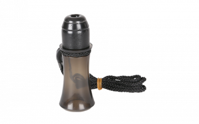 This snort-wheeze call by Flextone, called the Killer Wheeze, makes louder snort wheezes than most hunters can make with their mouth.