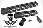 SquareDrop by AAC: KeyMod Compatible Honey Badger Handguards