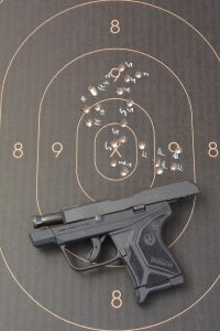 The author found that the LCP II performed quite well at 7 yards with the three types of ammo he used.