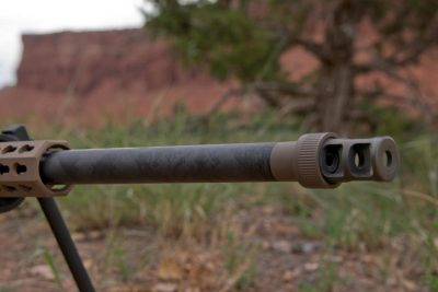 Proof Research barrel offer light weight, durability, and precision accuracy. The PSR brake softens recoil even more.