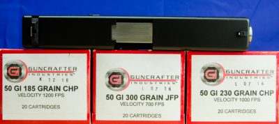 Guncrafter Industries is the only known supplier of ammo, but they offer a nice variety.