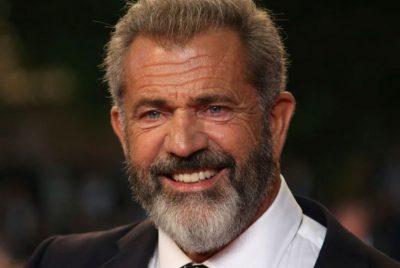 Actor, director Mel Gibson.