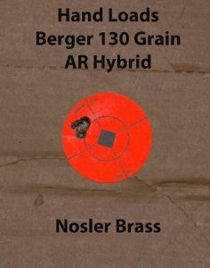 Using hand loaded 130-grain Berger AR Hybrid bullets and Nosler brass, the Surgeon was very scalpel-like with superb accuracy and long-range stability.
