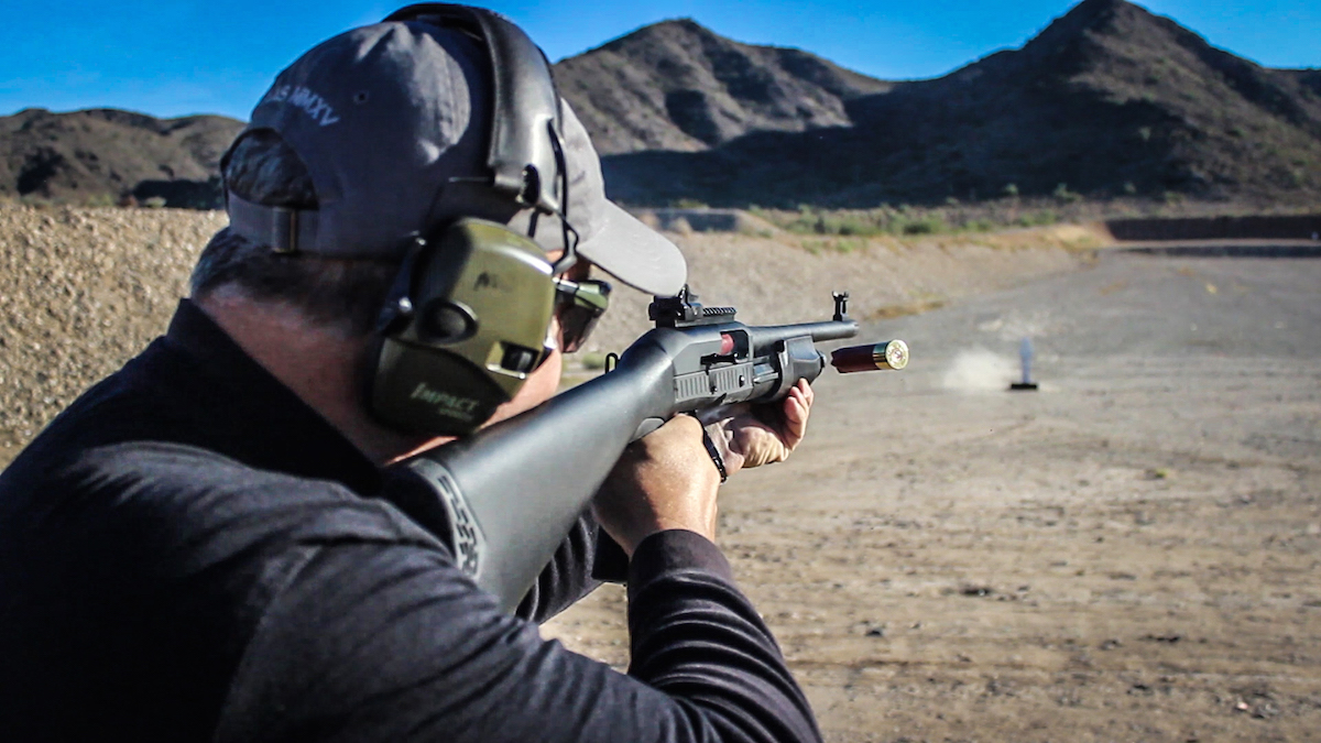 The TEC-12 proved to be a capable performer on the range.