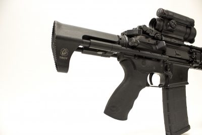 Despite its use of a standard bolt carrier group, the Tomahawk still downsizes your AR's overall length.
