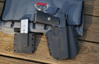 The author used a Raven Concealment rig with the Wilson for testing.