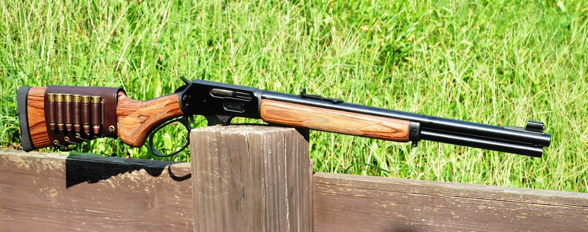 Svelte and handy, yet still packing in .45-70 power, the Marlin 1895GBL is a great option for bear country.