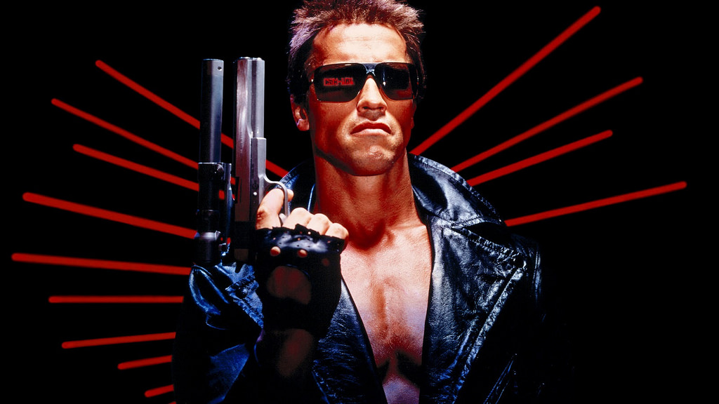 The iconic Hardballer .45 longslide was prominently featured in the film The Terminator. Image courtesy of MGM.