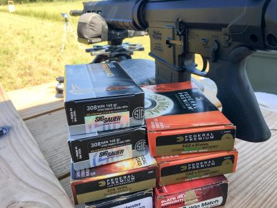I've been shooting several types of match, defensive, and hand loaded ammo through the Windham.