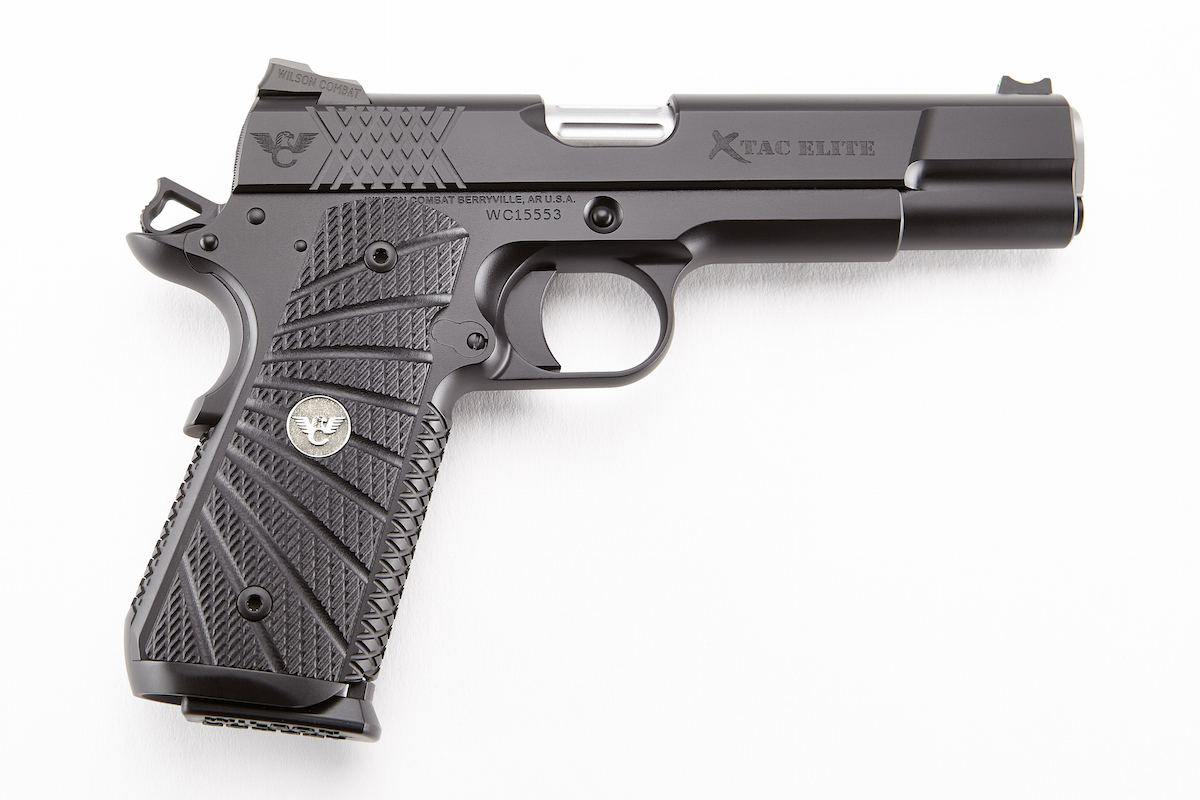 The Wilson X-TAC Elite is a great range or carry pistol right out of the box. Image courtesy of Wilson Combat.