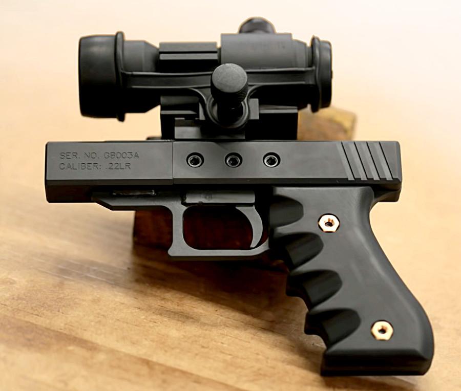 Here's the Simplest Homemade Pistol from Mark Serbu