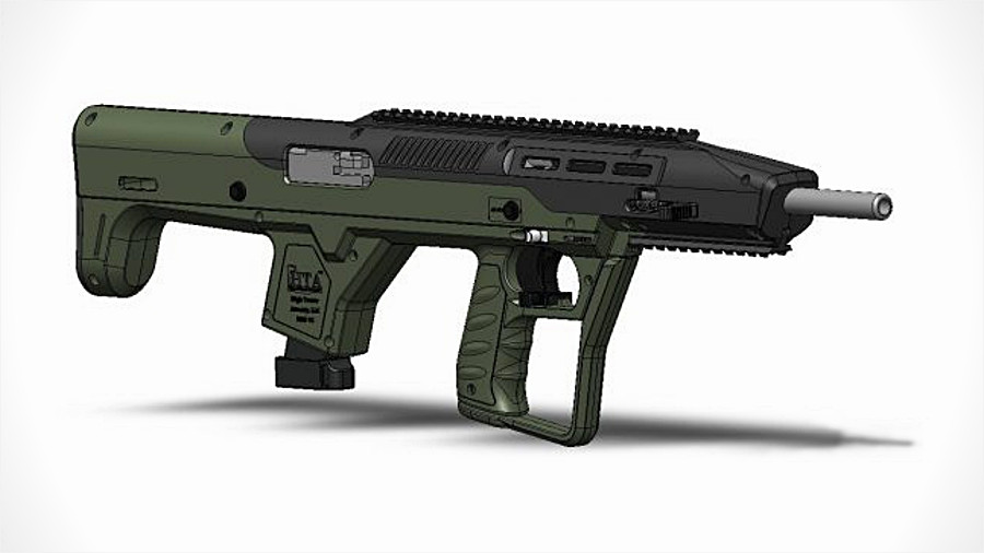 A Hot New Pistol-Caliber Bullpup Kit–For Hi-Point Carbines