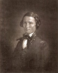 Texas Ranger Captain Samuel Walker was one of Sam Colt's greatest supporters and was instrumental in Colt's return to the arms market in 1847.