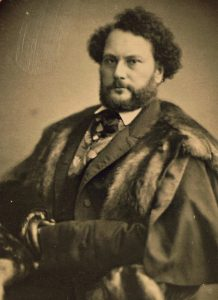 This rare photograph of Samuel Colt was taken in 1851 or 1852. He is more famously seen in a formal life size portrait painted Charles Loring Elliott in 1865, three years after Sam Colt's death in January 1862.