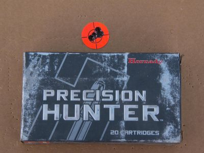 The author best group of .35 inches was achieved with Hornady ammo, and all ammo tested came in sub-MOA.