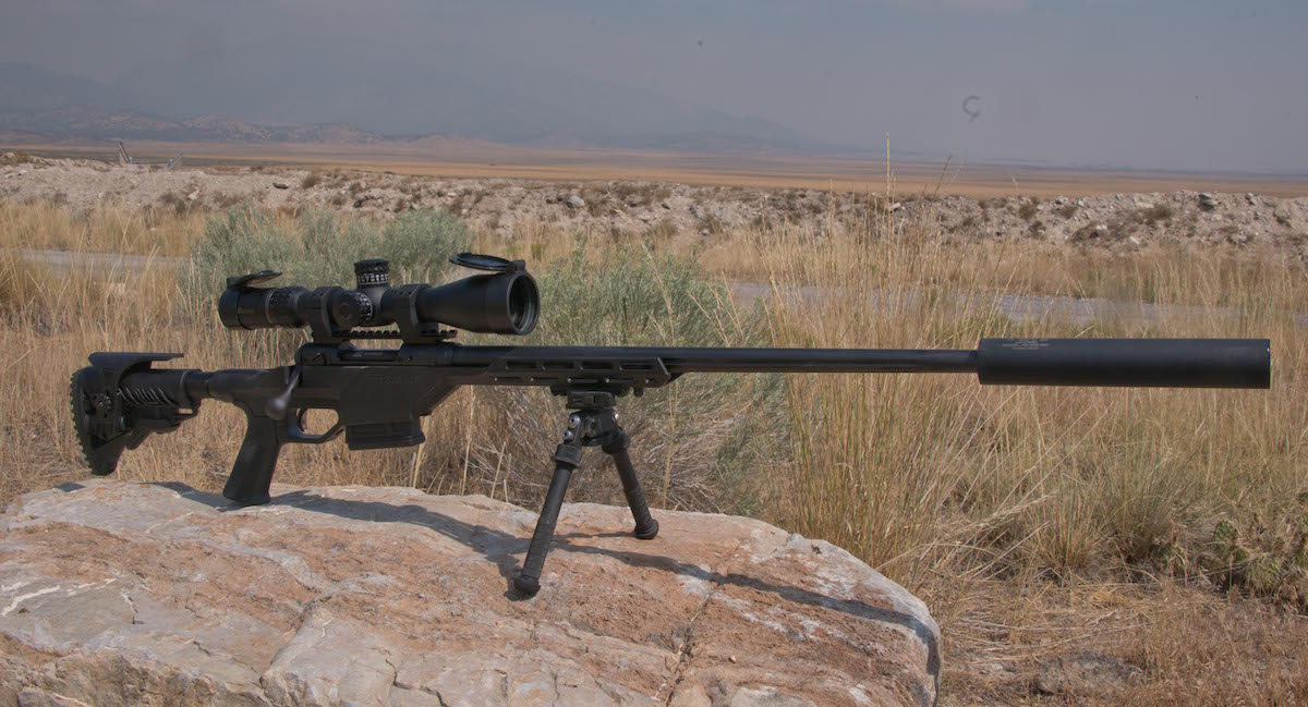 The Savage 10 BA Stealth, shown here chambered in 6.5 Creedmoor and sporting the 24-inch barrel, offers beginning precision rifle shooters a great gun at a great price.