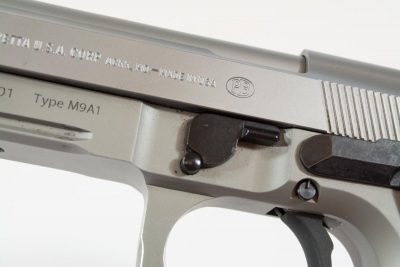 Field stripping is easy - just rotate the lever and no trigger release required.