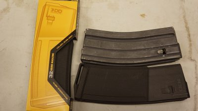 The author tested some of the new Daniel Defense 32-round magazines. They are negligibly longer than a standard 30 rounder.
