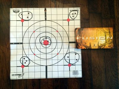The Federal Fusion ammo performed the best in the rifle.