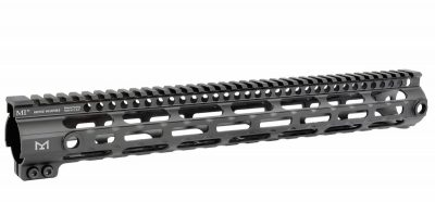 The Midwest Industries G3 Handguard is a lightweight unit that is designed to resist rotation.