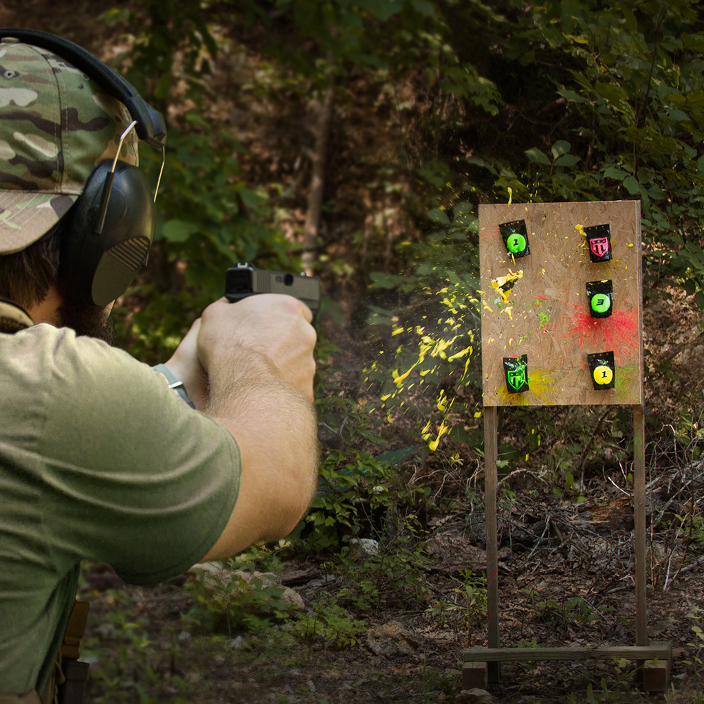 Yes, Triumph Systems Pop Packs are fun, but they'll also exercise your shooting brain.