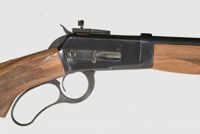 The classic lines of the Model 89 receiver and curved lever should appeal to traditional lever-action fans.