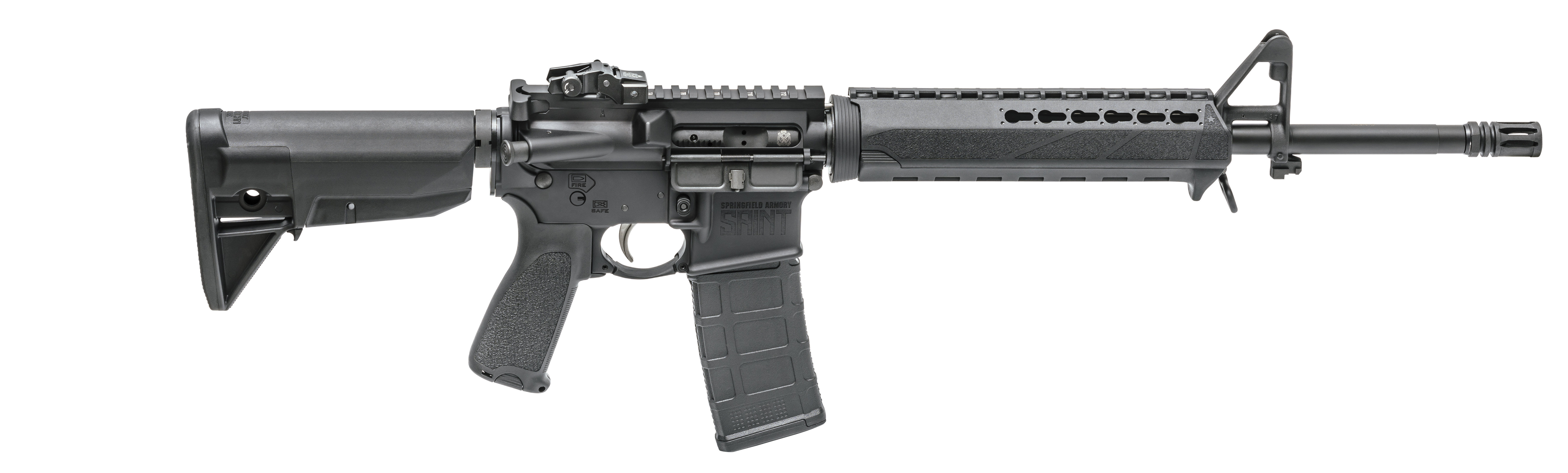 The new Springfield Saint is a well-appointed AR at a really good price point. Image courtesy of Springfield Armory.