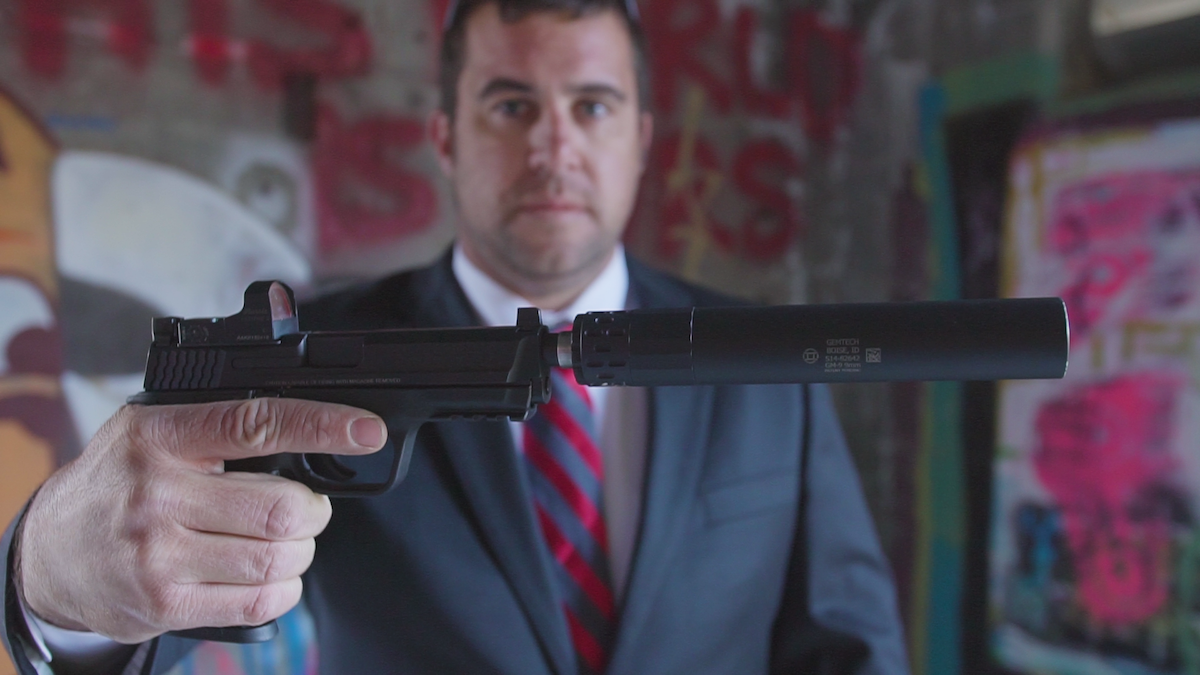 The C.O.R.E. with the Burris FastFire3 and the GEMTECH GM-9 is James Bond ready!