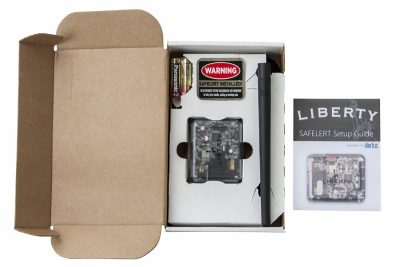 The Liberty SAFELERT provides you will a monitoring system for your safe.