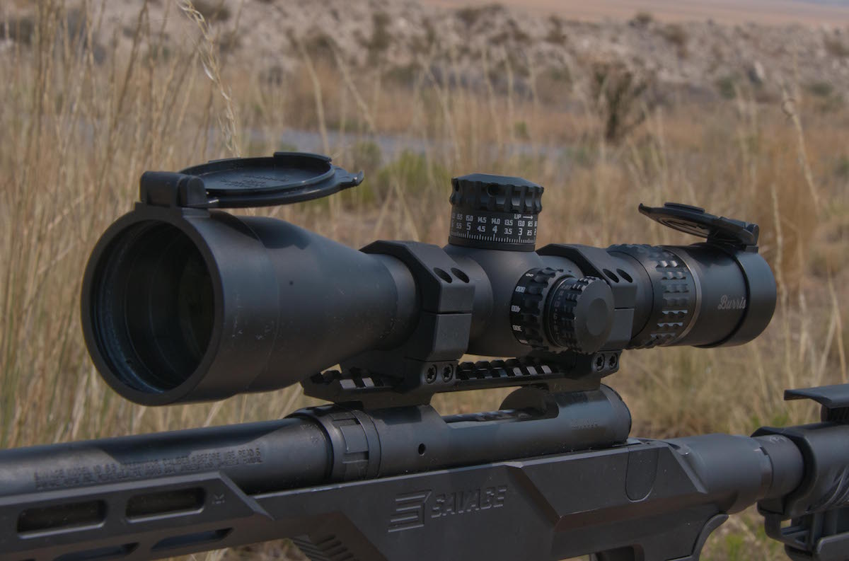 The Burris used during testing was an XTR II 3-15x50mm first focal plane model that really impressed the author.