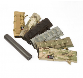 The Armageddon Gear Suppressor Cover is a great accessory for the serious suppressed precision rifle enthusiast.