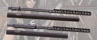 The Gemtech mist integrally suppressed barrel for the Ruger 10/22 is a great high-performance accessory.