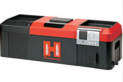 The Hornady Lock-N-Load Sonic Cleaner makes short work of cleaning your suppressor.