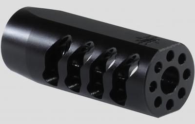 The Seekins Precision AR ATC muzzle brake is designed to optimize muzzle control and prevent excess noise.