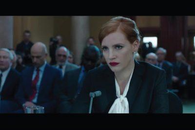 highly successful political strategist, Elizabeth Sloane (Jessica Chastain)