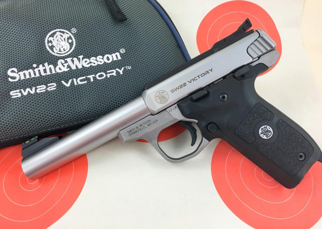 For the money, you can't beat the simplicity and accuracy of the Smith & Wesson Victory.