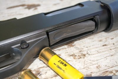 With a little patience, you can unload the magazine tube directly through the loading port.