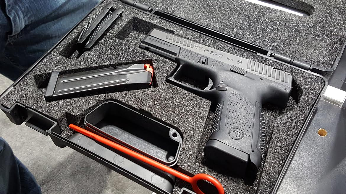 A Striker-Fired CZ? Check out the New CZ P-10 C