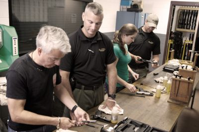 Sig Sauer Academy offers training courses as well as armorer's courses.