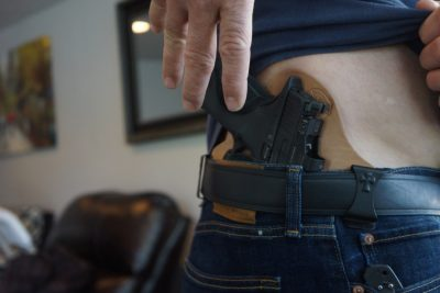 The author found that EDC with the Burris-equipped C.O.R.E. was no problem.