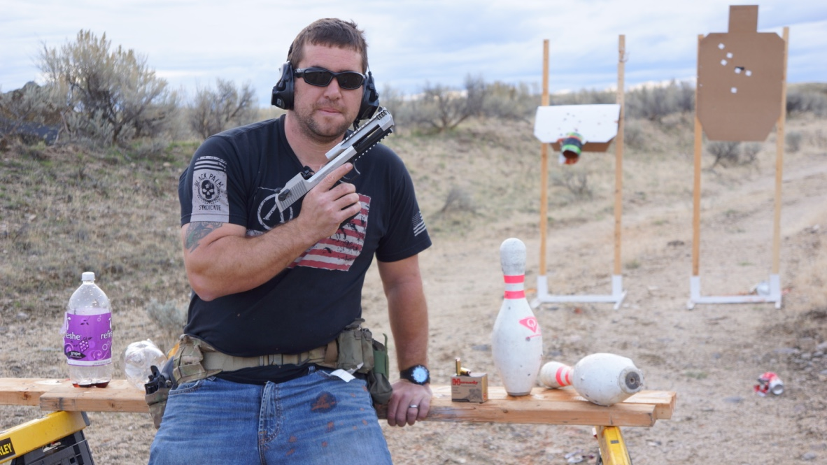 Green Beret Blows Up Stuff with a Lightweight .50: The Desert Eagle L6—Full Review.