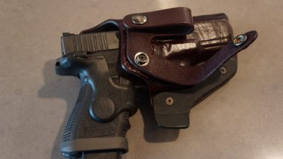 The Desbians AIWB holster allows you to comfortably carry a powerful defensive pistol all day.