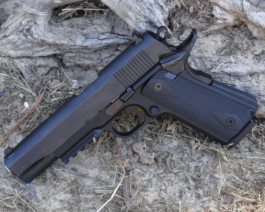 Once you get past your phobia of touching a poly-framed 1911, you discover that this is a pretty decent pistol - perhaps one of the best in its class.