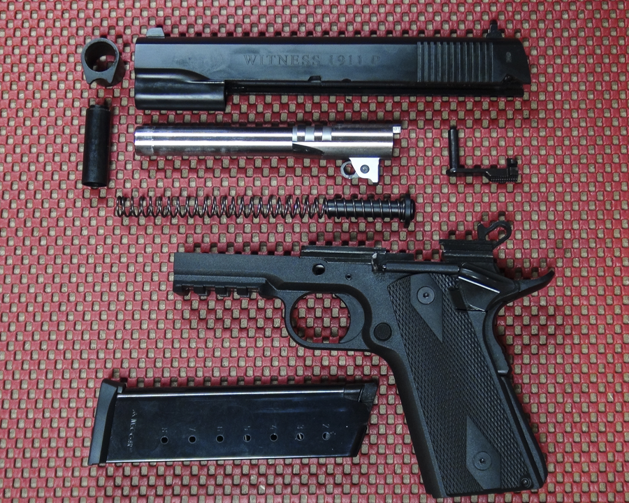 A Plastic 1911? The EAA Witness 1911P  45 ACP—Full Review