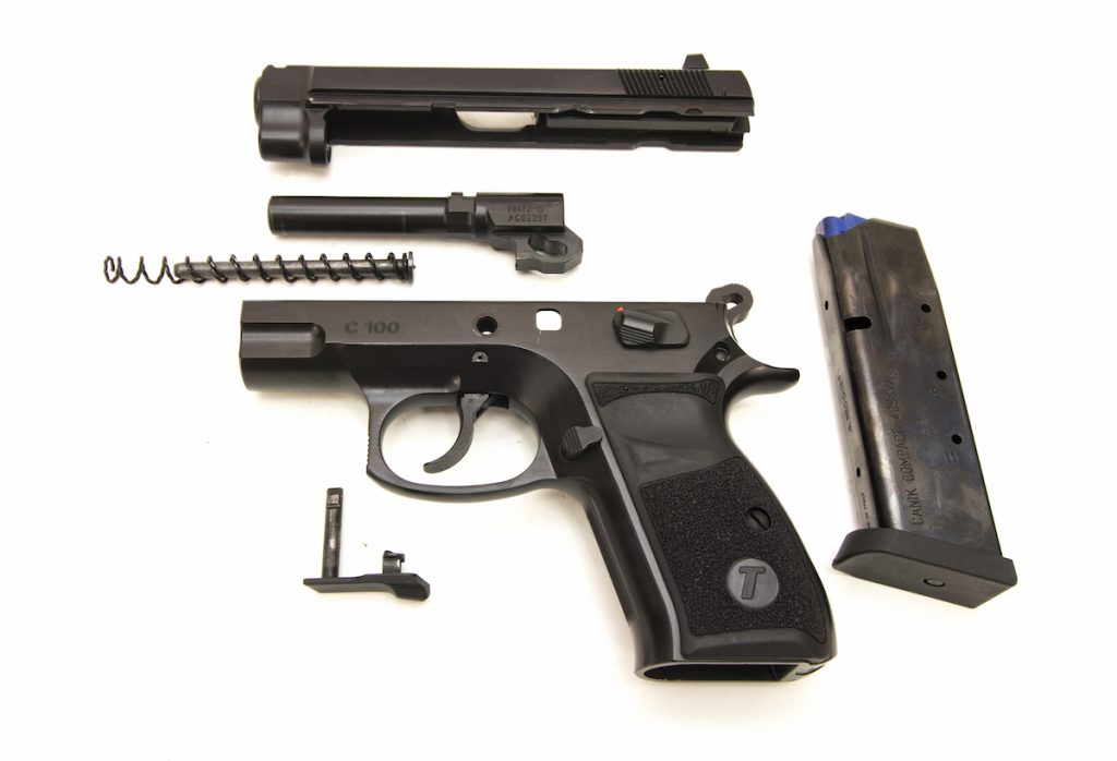 Anyone familiar with the CZ-75 series of pistols will be right at home with the TriStar C100.