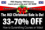 Christmas Sale at American Gunsmithing Institute! Up to 70 Percent Off!