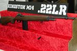 Kingston Armory Shows Rimfire M14 and M1 Garand Replicas – SHOT Show 2017