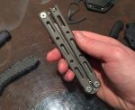 Benchmade's $600 Titanium Butterfly Knife! — SHOT Show 2016