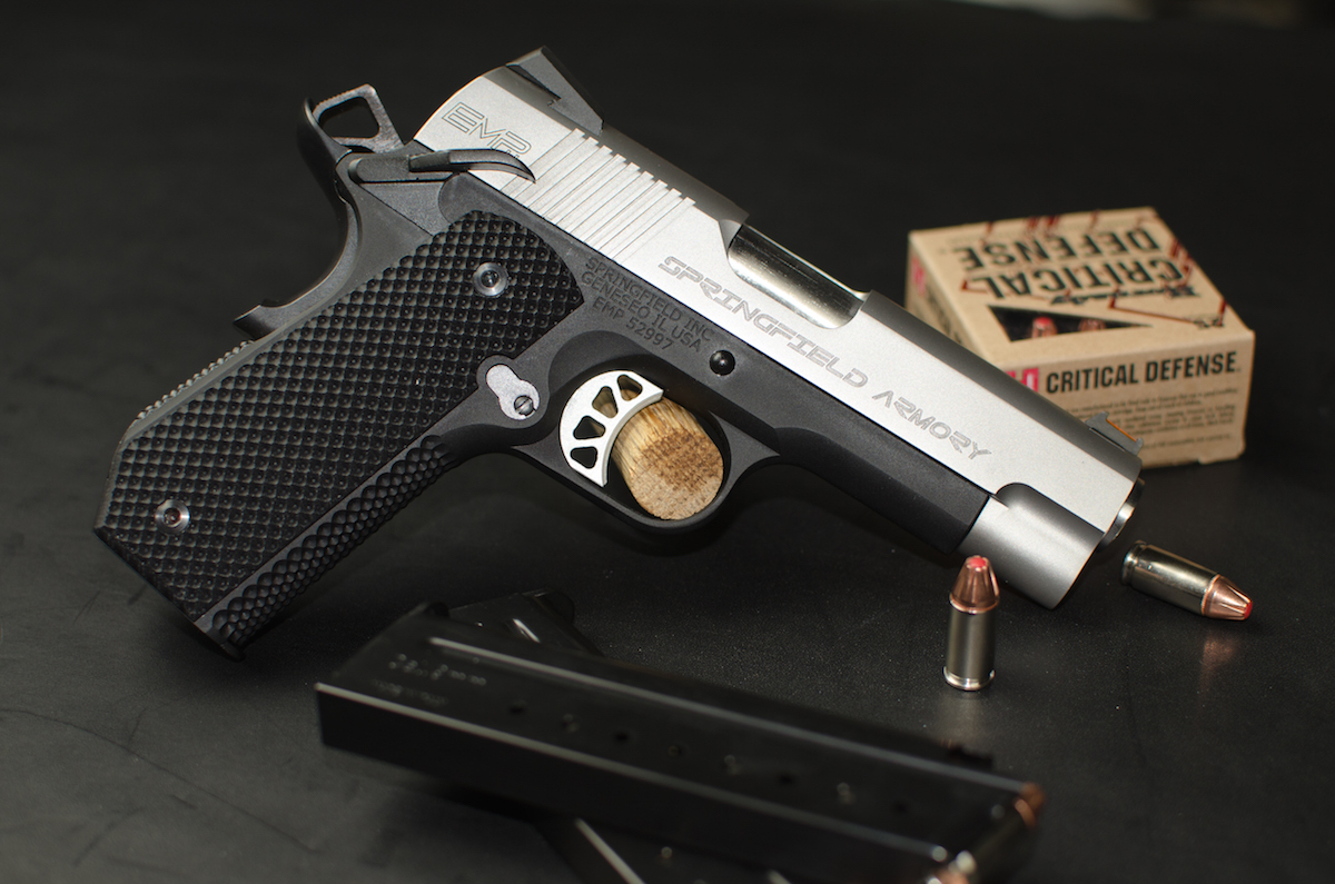 Bobtail Carry Contour EMP: Springfield's CCW 9mm 1911 - Full